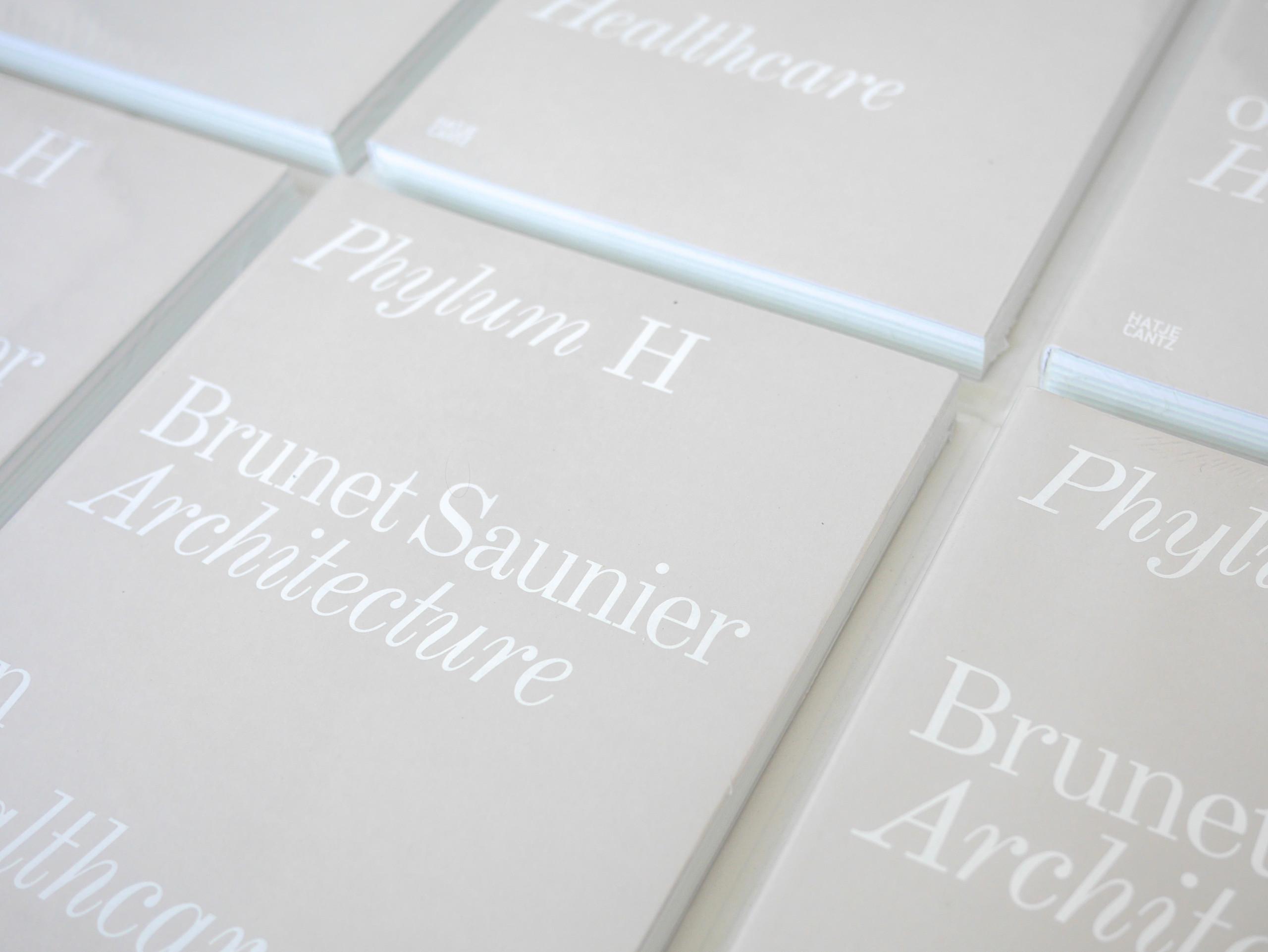 Phylum H, Brunet Saunier Architecture on Healthcare, Ed. Hatje Cantz, Berlin, 2020.